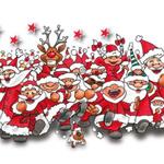 Santa-Lauf im ZDF